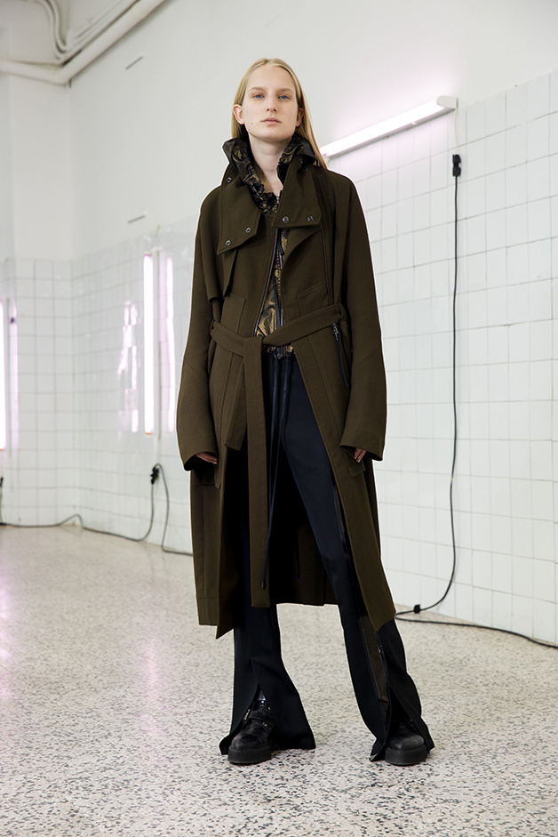 coat - cardigan - pants - ilaria nistri roque fall winter 2019 collection