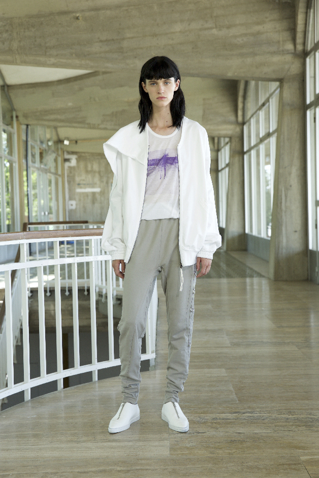 CARDIGAN - T-SHIRT STAMPA 'DRAGONFLY WINGS' - PANTALONI - COLLEZIONE ROQUE PRIMAVERA ESTATE 2018