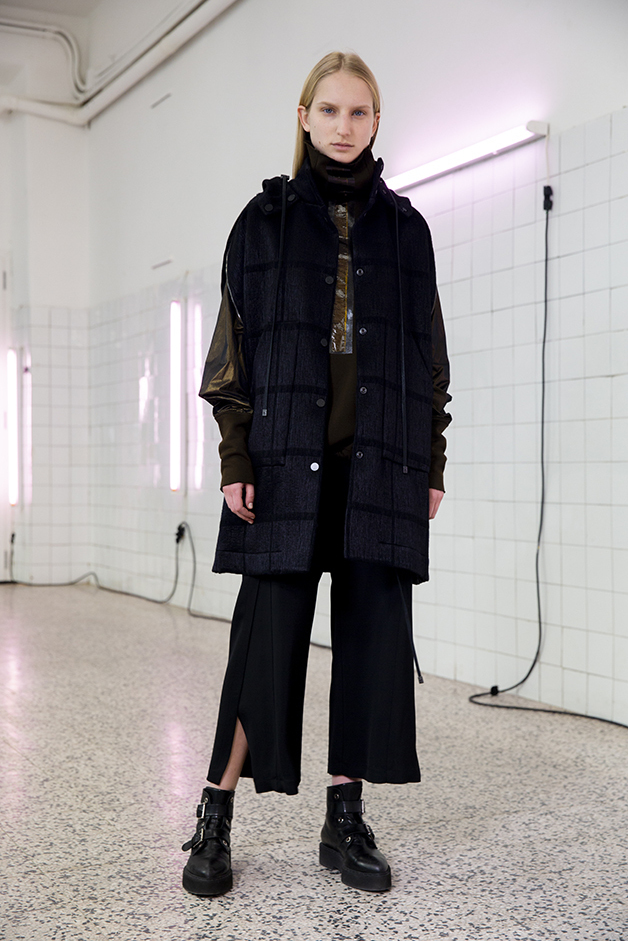 coat - sweater - pants - ilaria nistri roque fall winter 2019 collection